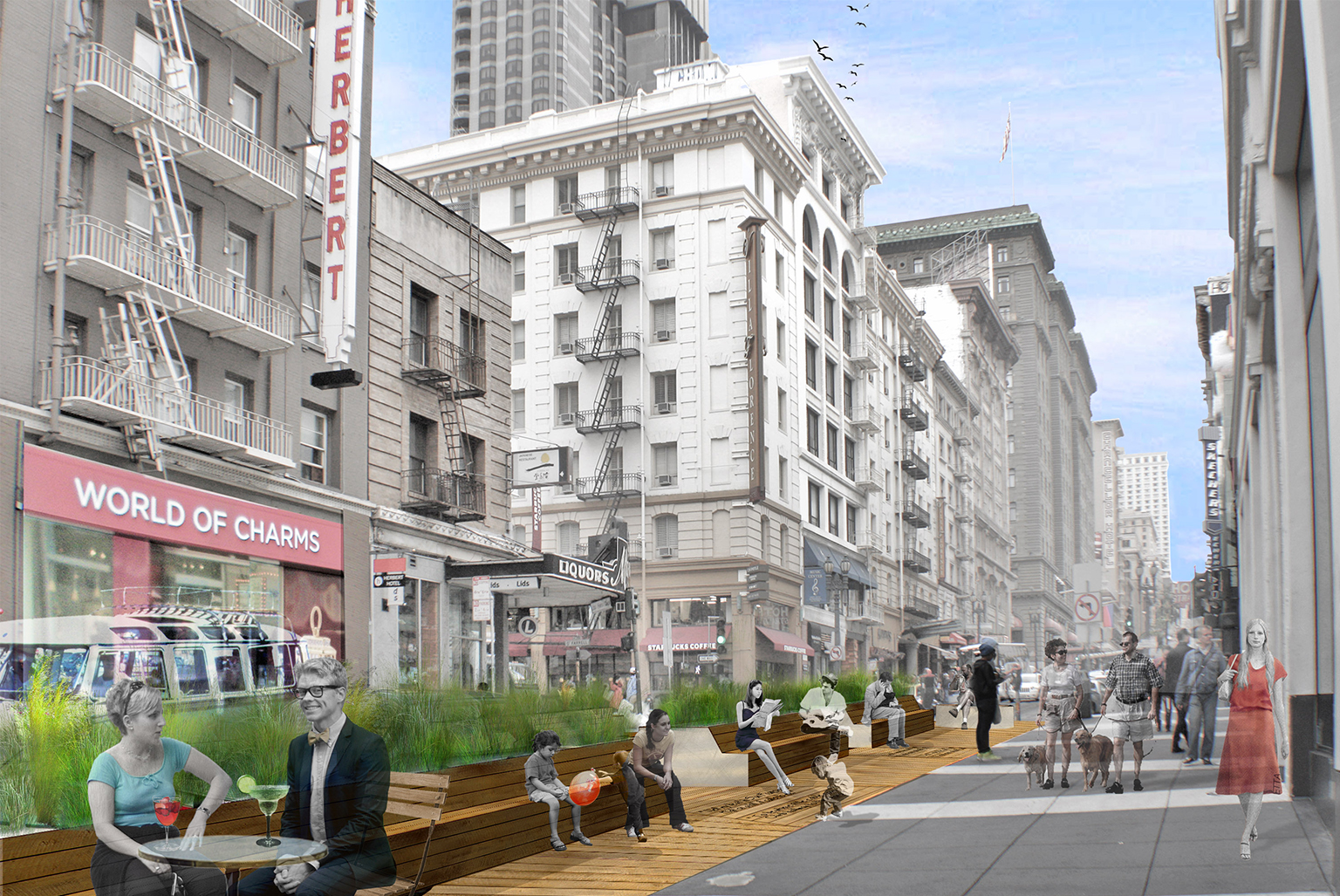 Union Square BID - Powell Street