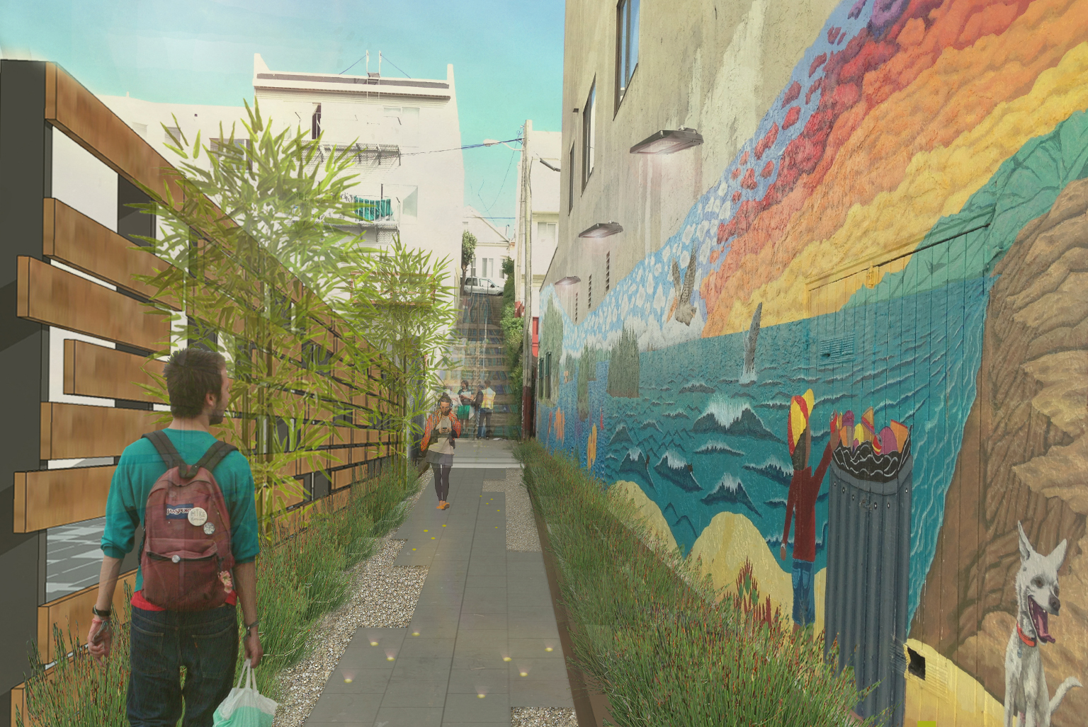 Kenny Alley Beautification