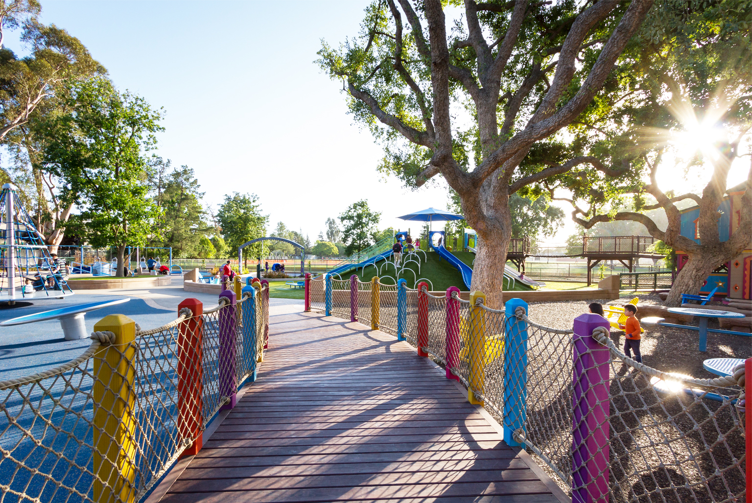 Magical Bridge Universal Playground