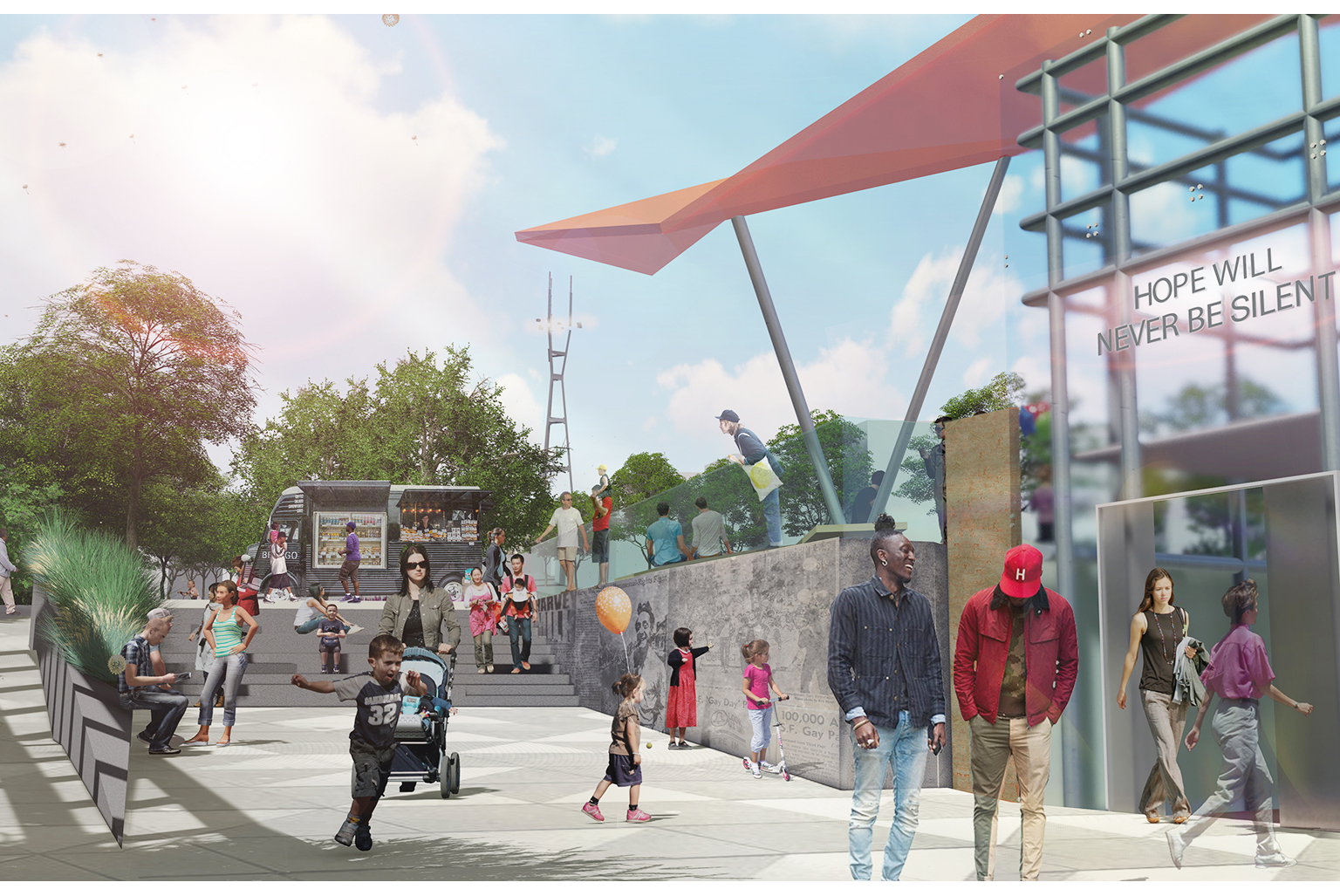 Harvey Milk Plaza Competition