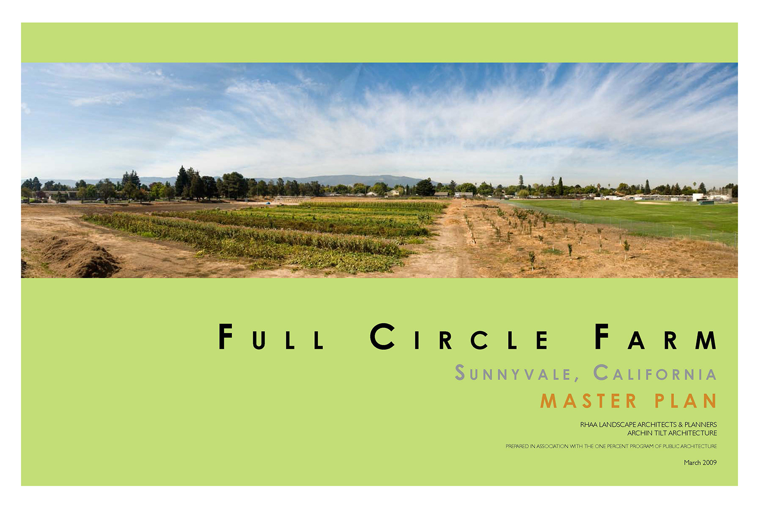 Full Circle Farm Master Plan