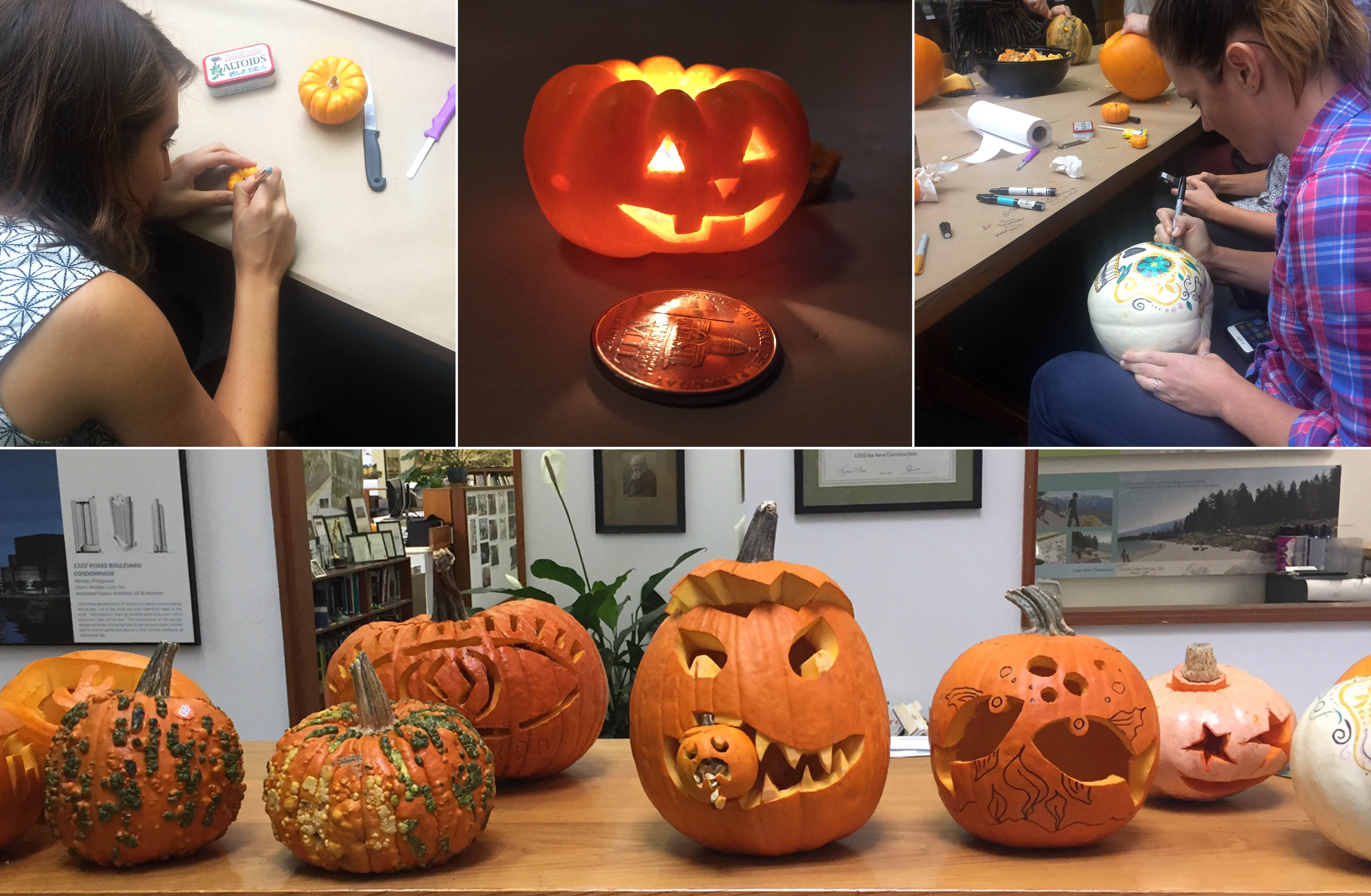 Annual Pumpkin Carving Contest